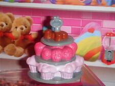 Fisher Price Loving Family Valentines Day Cupcake Stand
