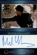 Game Of Thrones The Complete Series BB Autograph Miltos Yerolemou