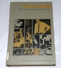 M Asubel Robinson; School Learning An Introduction to Educational Psychology