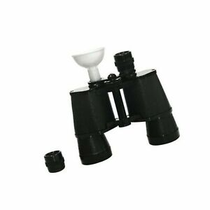 True Fabrications F45 Binoculars Flask, Black