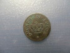 ITALIA LUCCA CARLO LUDOVICO (LUIS ) DE BORBON 1/2 SOLDO 1826 ESCASA