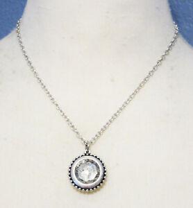 Premier Designs Jewelry Proverbs 31:10 Necklace Silver Tone Rhinestone