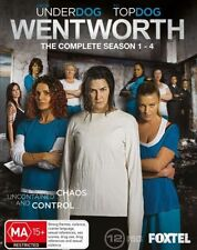 Wentworth : Season 1-4 (Blu-ray, 2016, 12-Disc Set)