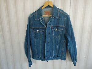 LEVI STRAUSS & CO. Men's Size L Blue Denim Jacket #57511