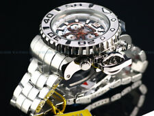 NEW Invicta Men's Full Size 70mm Sea Hunter Swiss Chrono High Polished SS Watch