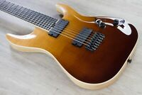 Schecter C-7 SLS Elite 7-String Guitar Flamed Maple Top Antique Fade Burst