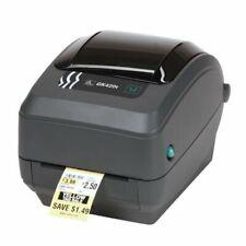 Zebra Desktopdrucker GK420t USB / LAN - Thermodirekt & Thermostransfer