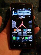 Motorola Droid RAZR Red 16 Gig XT912 Verizon Cell Phone