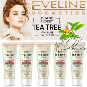 Eveline Botanic Expert Tea Tree Antibacterial Mattifying Foundation Vegan