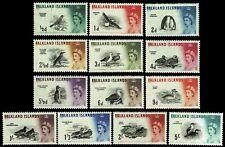 1960 Falkland Islands #128-140 Birds - OGNH - VF - CV$62.50 (ESP#1726)
