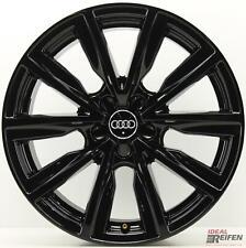 Originale Audi A1 S1 8X Cerchi Lega 17 Pollici 8X0601025C 7,5x17 ET36 Nero