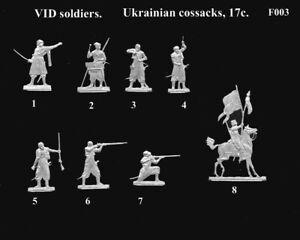 VID soldiers F003 - Flat tin soldiers - Zaporozje cossacks, 17 c.