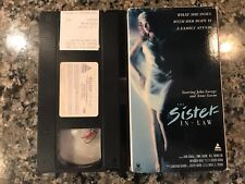 The Sister-In-Law Vhs! 1974 Drama! Maria's Lovers The Killing Kind Safelight