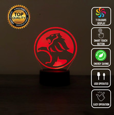 Holden Car Logo 3D Acrylic LED Night Light Touch Table Desk Lamp Gift 7 Colour