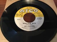 """The Coasters """"Run Red Run""""/ """"What About Us"""" 45 on ATCO Label in VG+"""