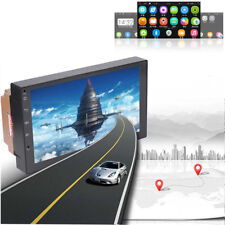 7inch Android 7.0 2 DIN16G car mp5 player bluetooth wifi GPS navigation FM Radio