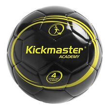 Kickmaster Size 4 Academy Football Training Ball Official Size & Weight