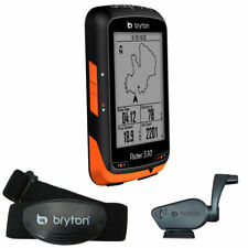Bryton Rider 530T GPS Cycling Computer w/ Cadence & Heart Rate