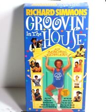 Richard Simmons GROOVIN in the HOUSE Aerobic Concert (VHS 1998) Exercise Video