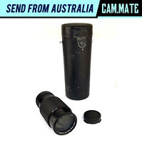 Canon FD 70-210mm F/4 Zoom Lens Macro with Hard Case [Aperture not work] C3064