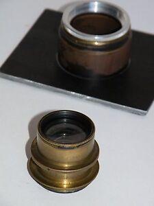 Objektiv G.Rodenstock München Doppel-Anastigmat Eurynar 6,8/18cm rar Germany