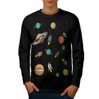 Space Exploration Men Long Sleeve T-shirt NEW | Wellcoda