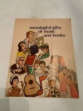 1950's-60's Gifts of Music And Books Catalog by The Grason Company