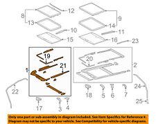 TOYOTA OEM 11-17 Sienna-Sunroof Frame 6320308021