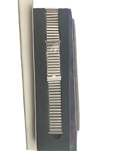 Joseph Bonnie 20mm Bonklip Ladder Bamboo Style Stainless Steel Watch Bracelet