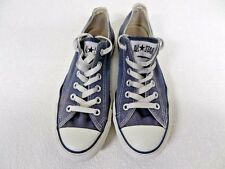 Converse All Star Ox Style Trainers Unisex EU 38 UK 5.5 Blue Grade B AC016