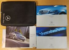 GENUINE MERCEDES C-CLASS W204 OWNERS MANUAL HANDBOOK WALLET 2007-2011 REF H-231