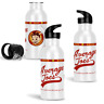 Average Joes Gym 600ml Aluminium Sports Water Bottle Inspired by Dodgeball