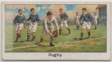 Rugby Football English Sport 1920s Trade Ad Card