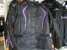 Oxford Dakota WS Long Textile Motorbike Motorcycle Jacket Black Purple
