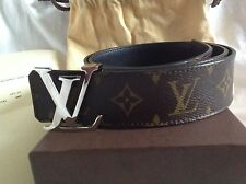AUTHENTIC LOUIS VUITTON Initiales.40 Reversible Monogram 85
