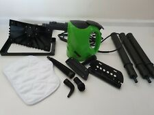 Handheld H20 Steam Cleaner with 10 accessories + pad, long extension lead