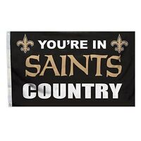 NEW ORLEANS SAINTS COUNTRY FLAG NEW 3x5 ft YOU'RE IN