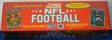 SCORE 1990 NFL FOOTBALL COMPLETE 665 CARD SET ~ NEW IN FACTORY SEALED BOX