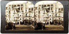 Keystone Stereoview of Wash Day in Naples, ITALY from the 1930's T600 Set