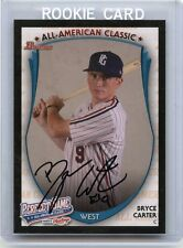 "2013 BOWMAN RAWLINGS PERFECT GAME #PG-BC BRYCE CARTER ""AFLAC"" AUTOGRAPH RC"