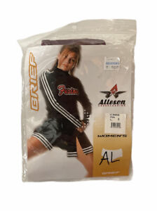 New Alleson Cheerleading Maroon Briefs Women's Size L Free US Shipping