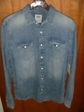 ~NEW~ Levi's Chambray Vintage Style Denim Shirt M Matthew Fall '19 Faded