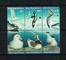 Ross Dependency: 1997 Antarctic Seabirds, Block Composite Design,  MNH set