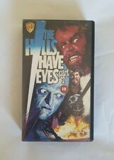 The Hills Have Eyes Part 2 VHS  WB RARE
