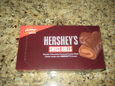 (16)- Mrs. Freshley's Deluxe HERSHEY'S SWISS ROLLS Cakes, Factory Sealed.