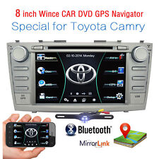 """8"""" For Toyota Camry 2007-2011 GPS Navigation Car Radio Stereo DVD Player+HD Cam"""