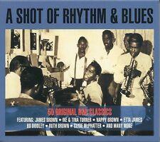 A SHOT OF RHYTHM & BLUES - 2 CD BOX SET - R&B CLASSICS, JAMES BROWN & MORE