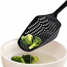 Tools Vegetable Skimmer Large Colander Strainer Scoop Soup Filter Nylon Spoon