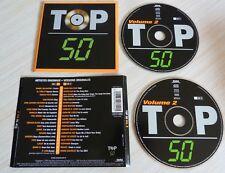2 CD ALBUM COMPILATION TOP 50 VOLUME 2  38 TITRES 2000