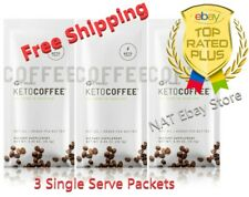 It Works Keto Coffee Sealed bag 3 Single Serve Packets Carb Management  🚚🚚